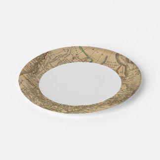 North America 3 7 Inch Paper Plate