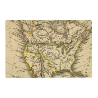 North America 40 Placemat