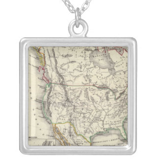 North America 41 Silver Plated Necklace
