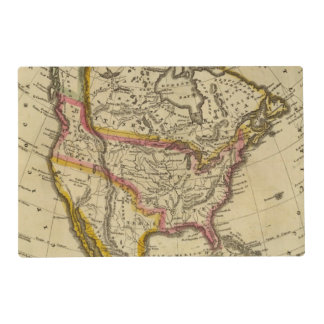 North America 42 Placemat