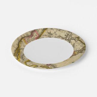 North America 42 7 Inch Paper Plate