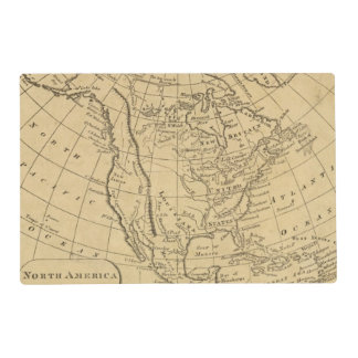North America 44 Placemat