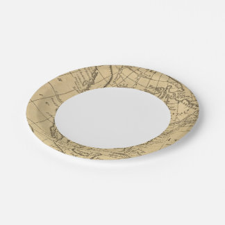 North America 44 7 Inch Paper Plate