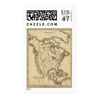 North America 4 Postage