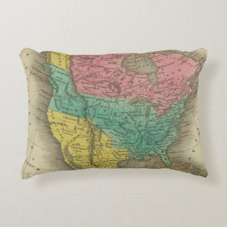 North America 5 Accent Pillow
