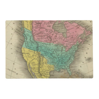 North America 5 Placemat