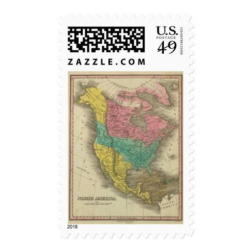 North America 5 Stamps
