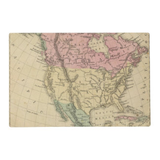 North America 6 Placemat