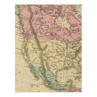 North America 6 Postcard
