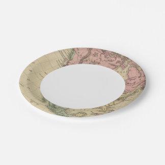 North America 6 7 Inch Paper Plate