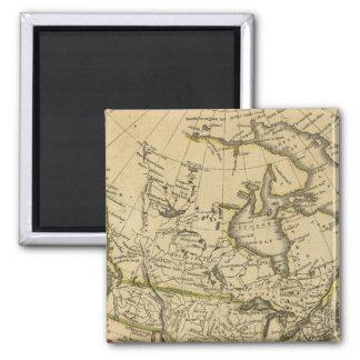 North America 7 Fridge Magnets
