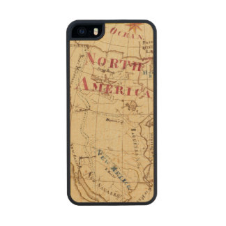 North America 8 Carved® Maple iPhone 5 Case