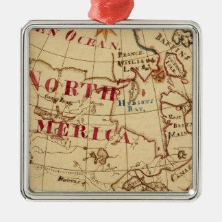 North America 8 Christmas Tree Ornament