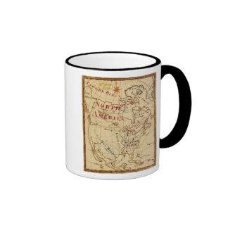 North America 8 Coffee Mugs