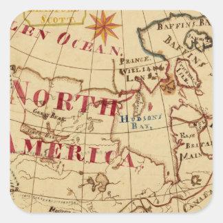 North America 8 Sticker
