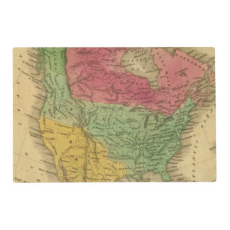 North America 9 2 Placemat