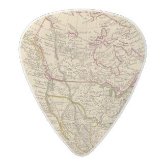 North America 9 Acetal Guitar Pick