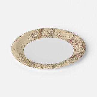 North America 9 7 Inch Paper Plate