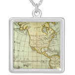 North America and South America Custom Necklace