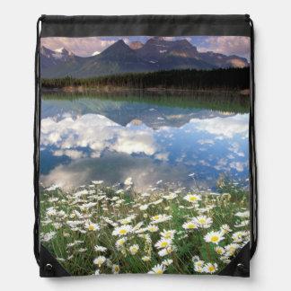 North America, Canada, Alberta, Banff National 2 Cinch Bags