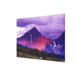 North America, Canada, Alberta, Canadian Canvas Print