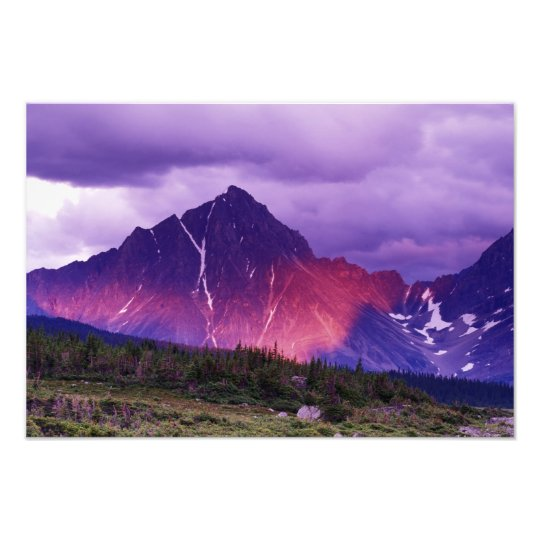 North America, Canada, Alberta, Canadian Photo Print