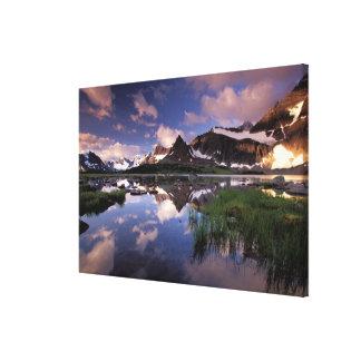 North America, Canada, Alberta, Jasper 4 Canvas Print