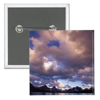 North America, Canada, Alberta, Jasper 5 Pinback Button
