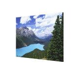 North America, Canada, Alberta, Jasper 6 Canvas Print