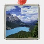 North America, Canada, Alberta, Jasper 6 Christmas Ornaments