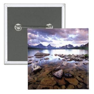 North America, Canada, Alberta, Jasper National Pinback Button
