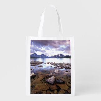 North America, Canada, Alberta, Jasper National Grocery Bags