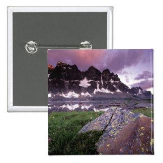 North America, Canada, Alberta, Jasper Pinback Button