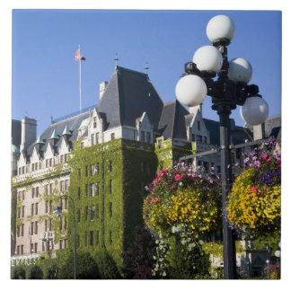 North America, Canada, British Columbia, 5 Large Square Tile