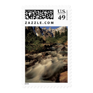 North America, Canada, Canadian Rockies, Banff Postage Stamps