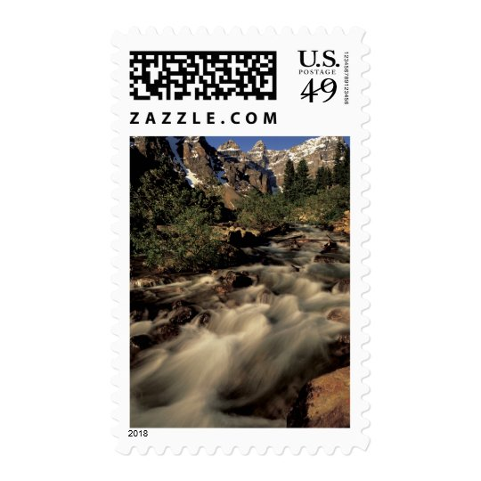 North America, Canada, Canadian Rockies, Banff Postage