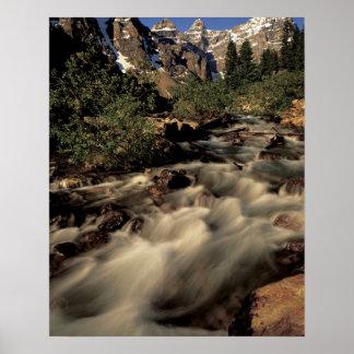 North America, Canada, Canadian Rockies, Banff Poster