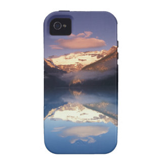 North America, Canada, Lake Louise morning Vibe iPhone 4 Case