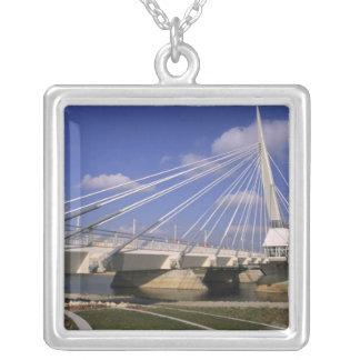 North America, Canada, Manitoba, Winnipeg, Silver Plated Necklace