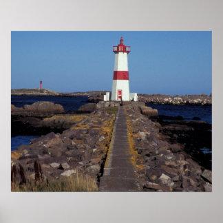 North America, Canada, Miquelon and St. Pierre, Poster