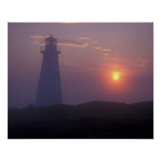 North America, Canada, Newfoundland, Cape Spear, Poster