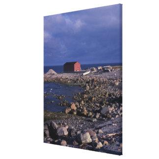 North America, Canada, Newfoundland, Gros Morne Canvas Print
