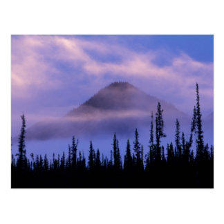 North America, Canada, Northwest Territories, Postcard