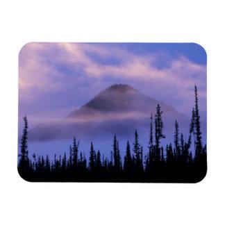 North America, Canada, Northwest Territories, Rectangular Photo Magnet