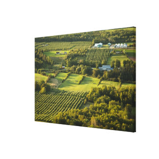 North America, Canada, Nova Scotia, Annapolis Canvas Print