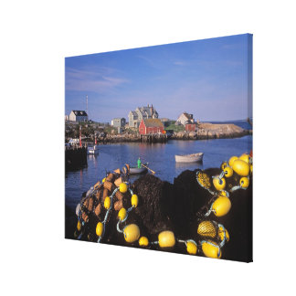 North America, Canada, Nova Scotia, Peggy's Canvas Print
