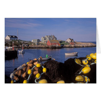 North America, Canada, Nova Scotia, Peggy's Greeting Card