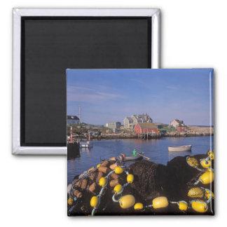 North America, Canada, Nova Scotia, Peggy's 2 Inch Square Magnet