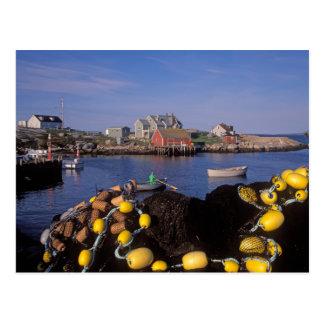 North America, Canada, Nova Scotia, Peggy's Postcard
