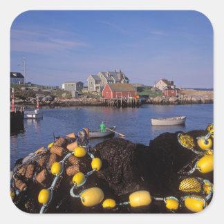 North America, Canada, Nova Scotia, Peggy's Square Sticker